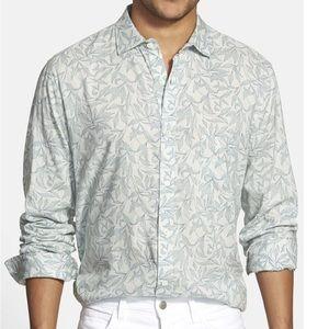 Billy Reid Heirloom Trim Fit Print Sport Shirt XL